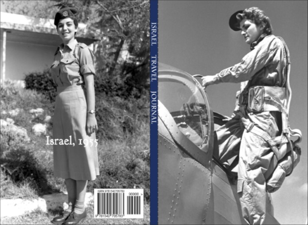 Israel Journal: Cover features Israeli Female Pilot, 1955