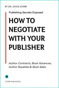 Book Deals, Publishing Contracts