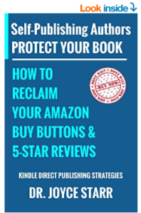 Self Publishing Authors: How to Protect Your Book & Reclaim Your Amazon Buy Buttons